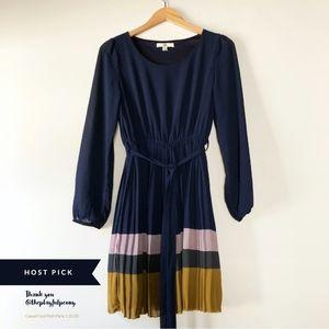 🥳Host Pick🥳 Ya Los Angeles Silk LS Sheath Dress